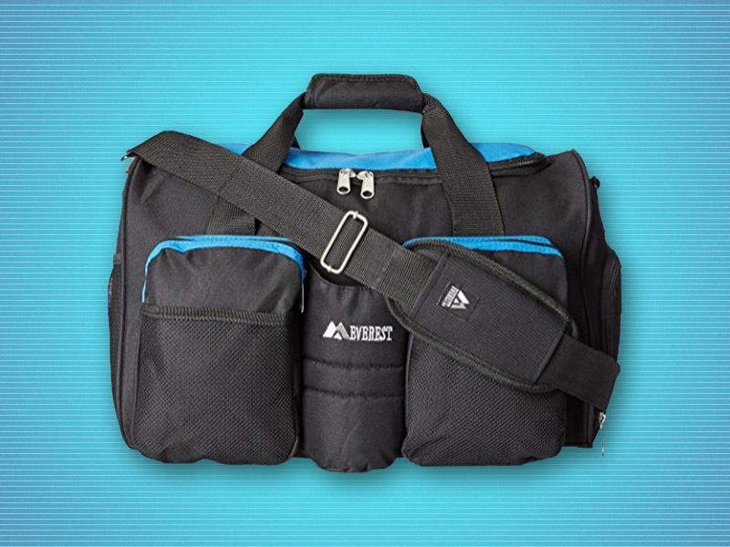 Everest Gym Bag with Wet Pocket  21.26   Sports Moms c9b9213dc3